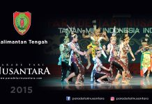 Parade-Tari-Nusantara-2015-kalimantan-tengah