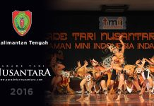 parade-tari-nusantara-2016-Kalimantan-Tengah